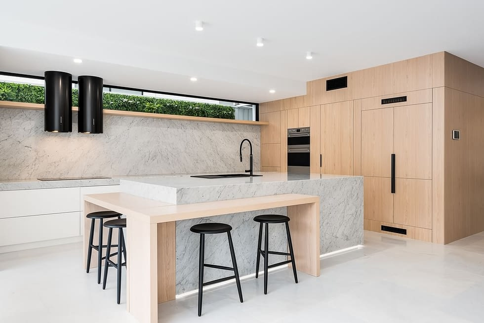 Custom built kitchen Brisbane