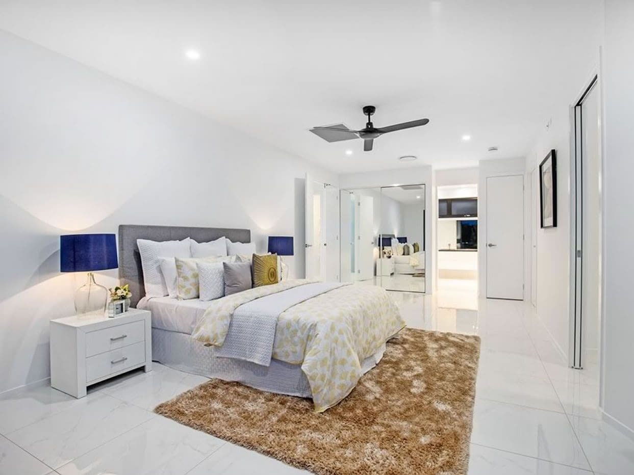 Master ensuite view of Custom luxury home built