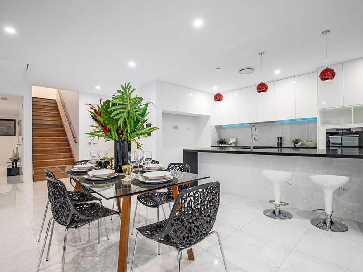 Entertainers Kitchen of Custom built luxury home