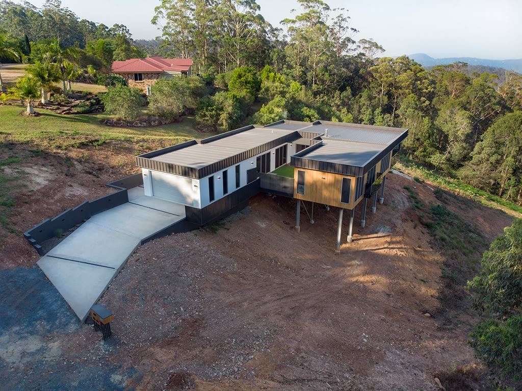 Sloping block eagle heights