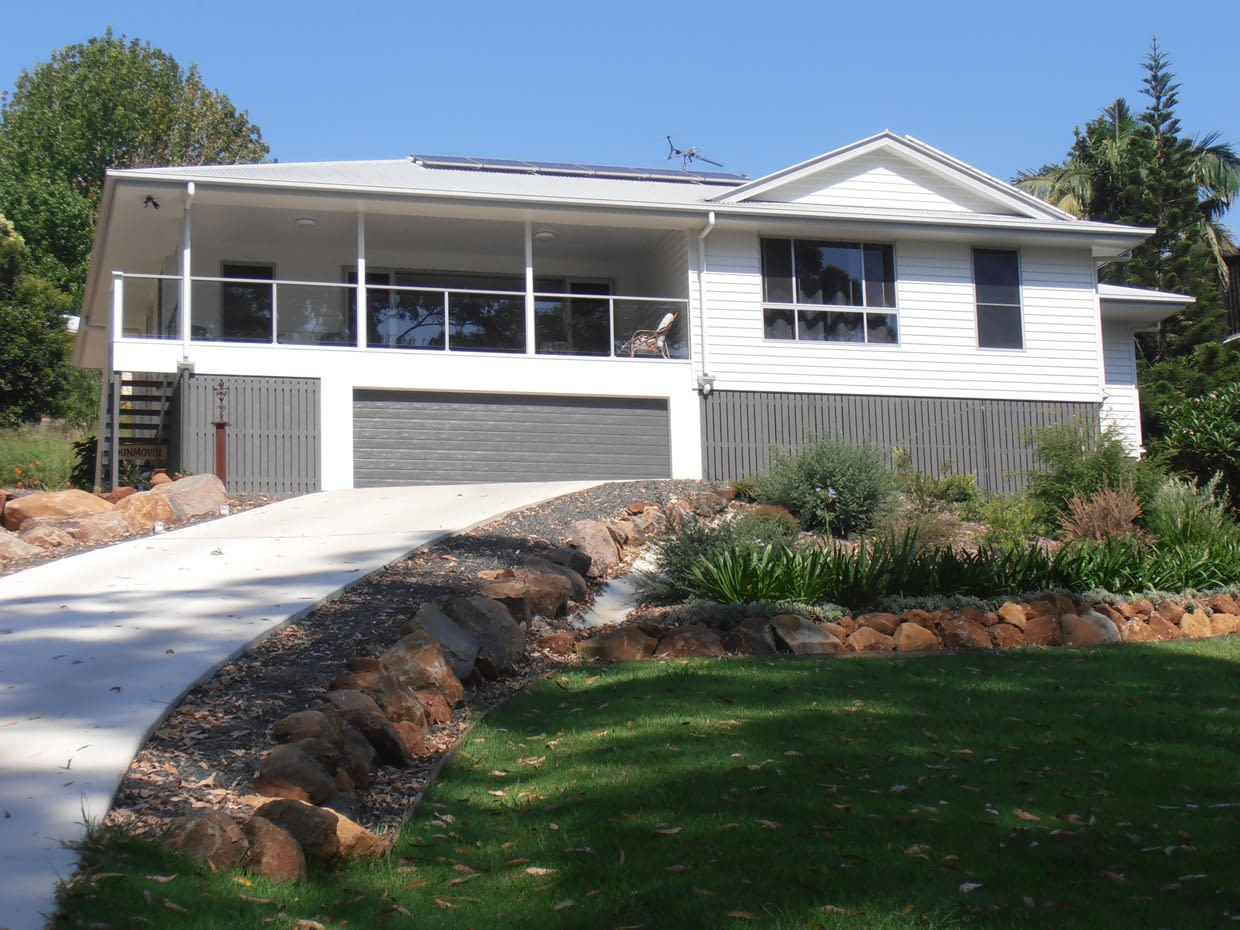 Sloping block Design and Construction - Gallery