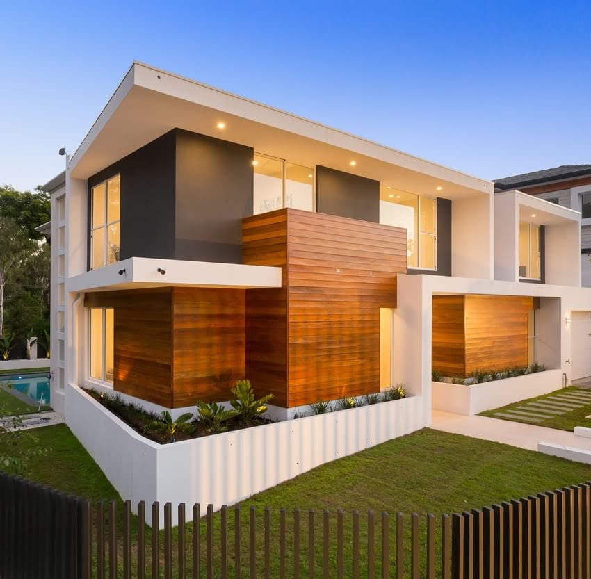 custom home build In Indooroopilly