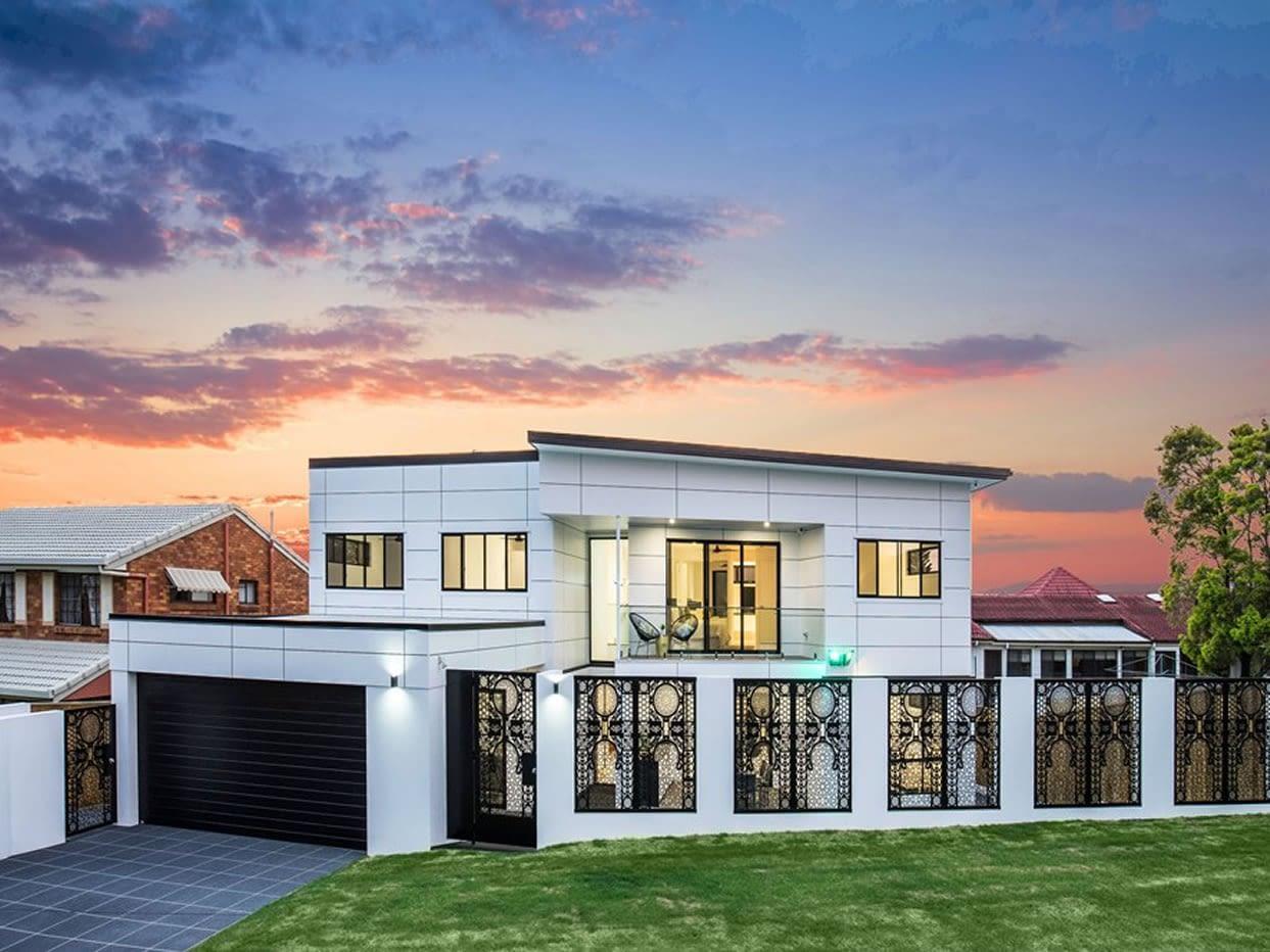 Custom luxury home built in Nevern