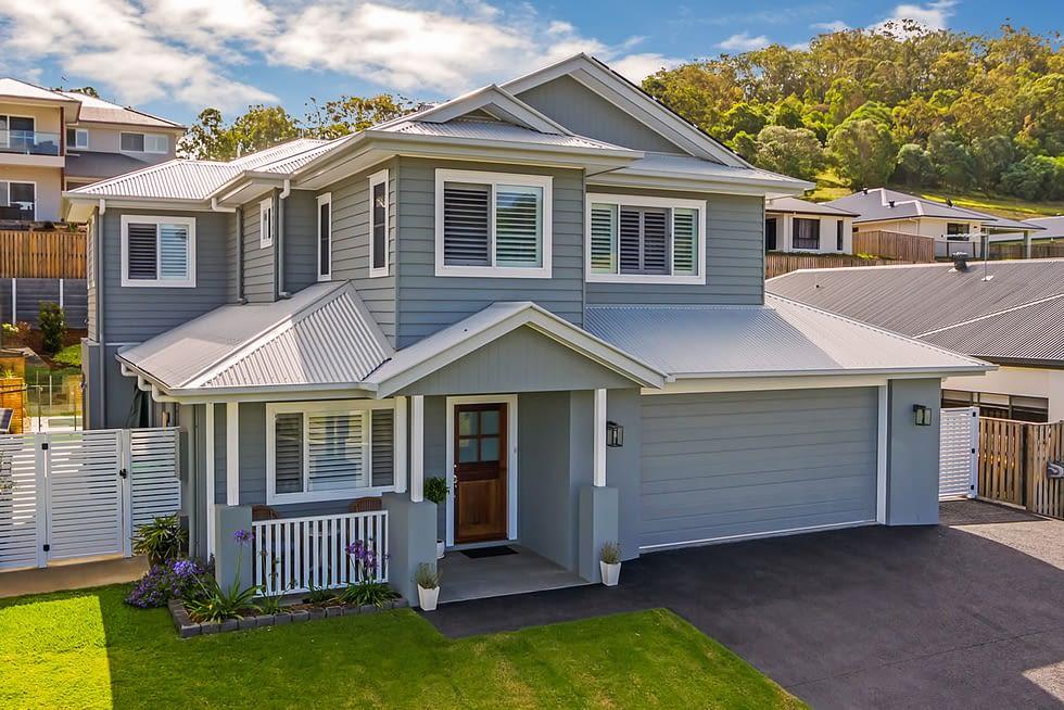 Riverstone Custom Built Home Facade- Brisbane