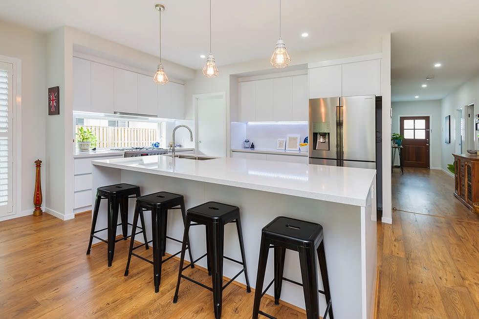 Riverstone Custom Built Home Kitchen view - Brisbane