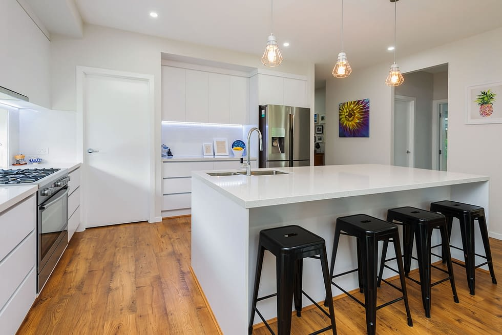 Riverstone Custom Built Home Kitchen overlook - Brisbane