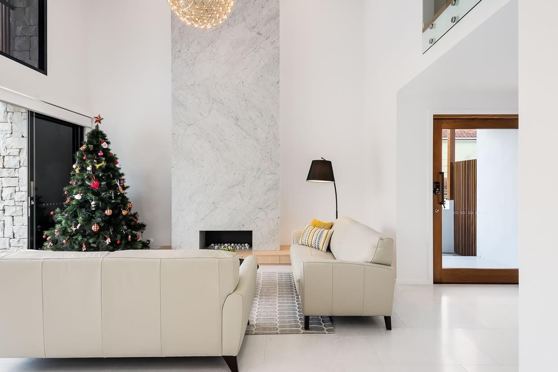 Custom built home interior Brisbane