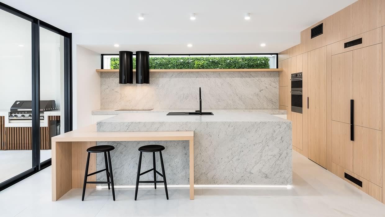 Custom built Kitchen Island Brisbane