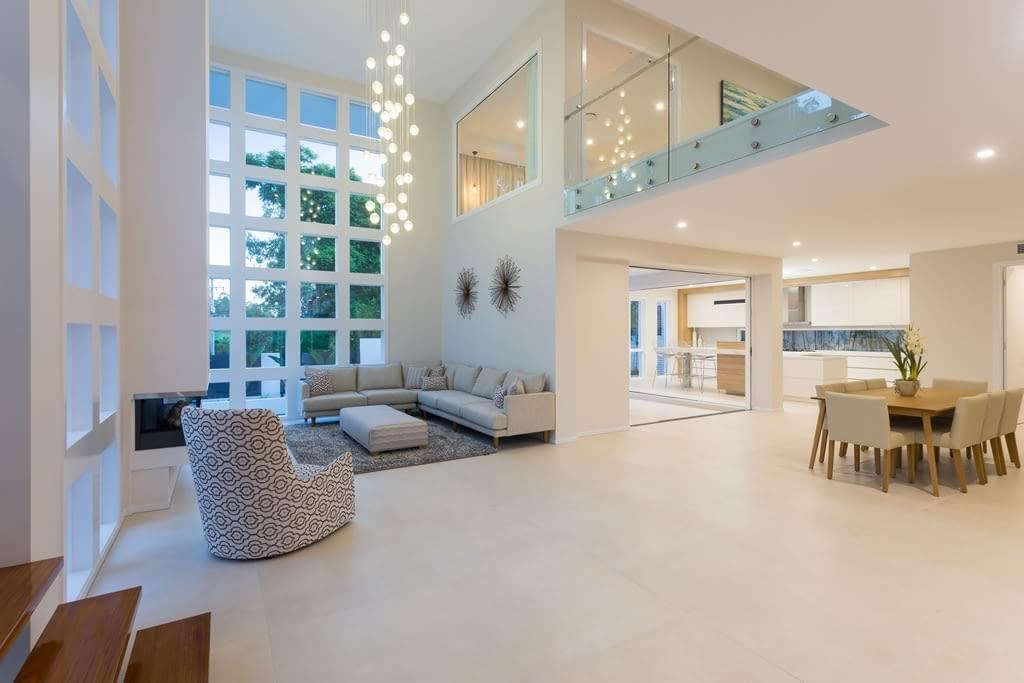 Custom built homes interior