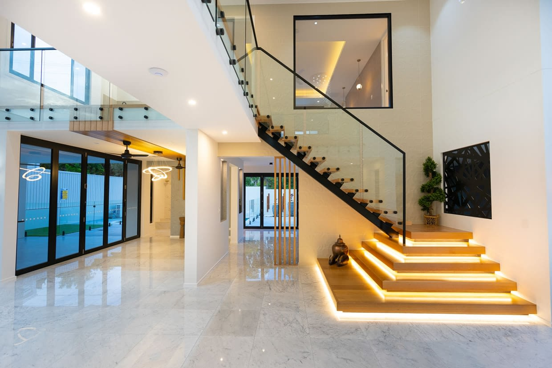Bespoke stair case