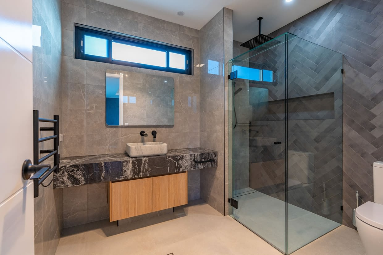 Custom designed bathroom chermside