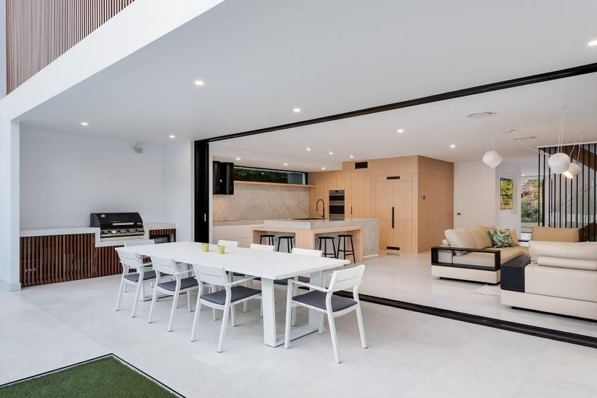 Alfresco area Luxury custom home
