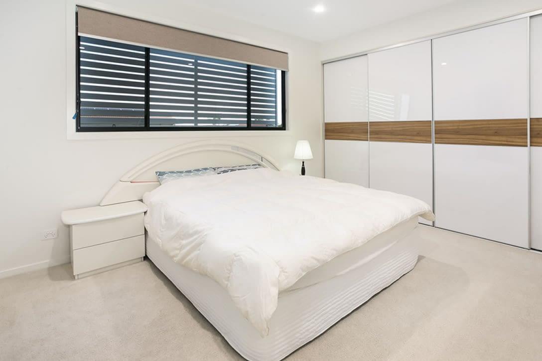 Luxury townhouse bedroom
