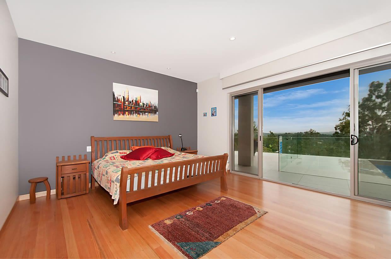 Oppermann Sloping block bedroom